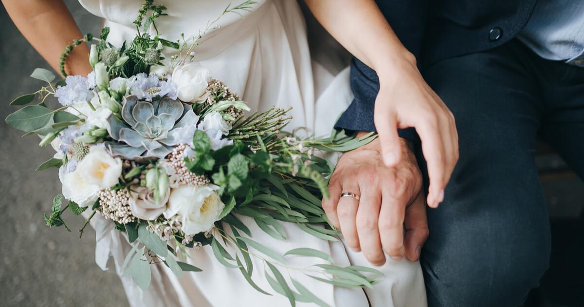 結婚式 夫婦