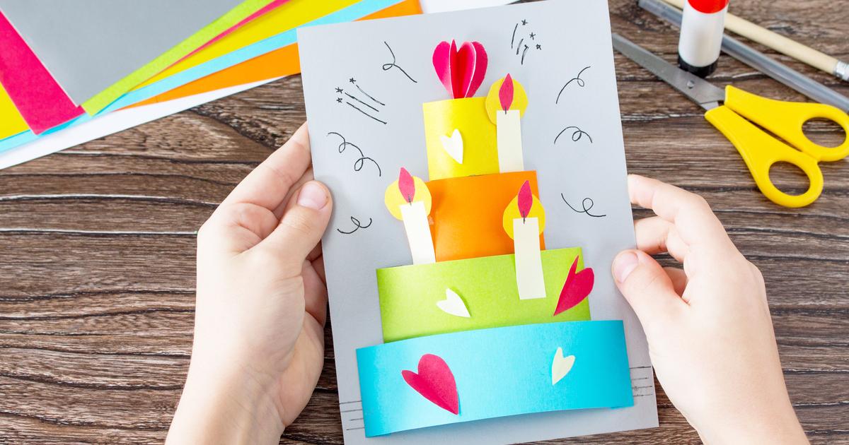誕生日 手作り カード