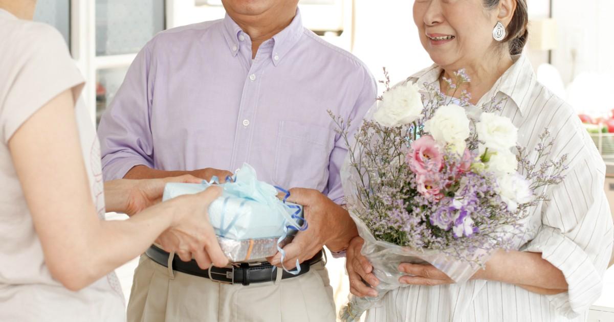 両親 結婚記念日 似顔絵 プレゼント