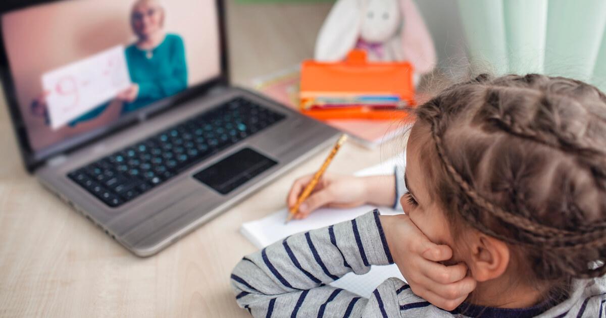 オンライン 学習 幼児