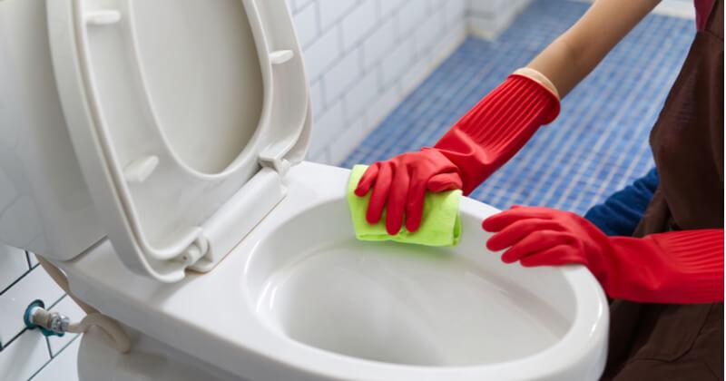 トイレ 壁 掃除