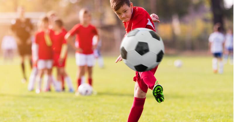 サッカーのレッスンを受ける効果