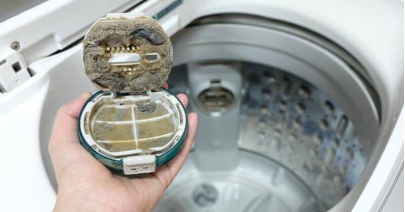 洗濯機の排水口が汚れる原因