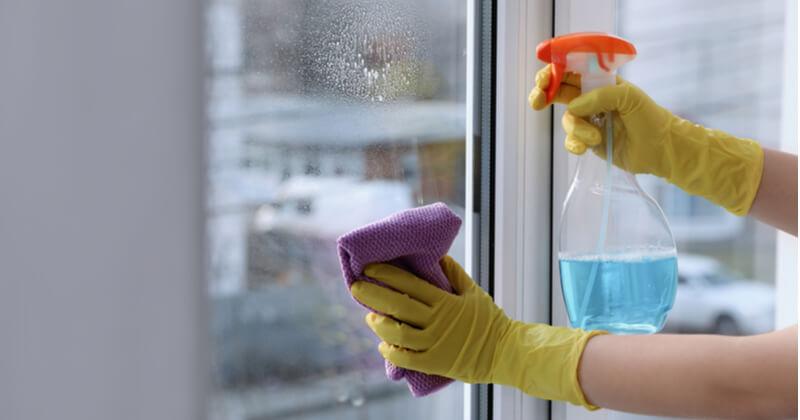 窓掃除の適切な頻度は?